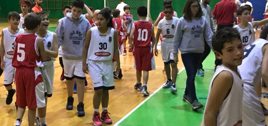 L'Under 13 Pasta Zara mantiene l'imbattibilità vincendo il derby con l'Olimpia GB