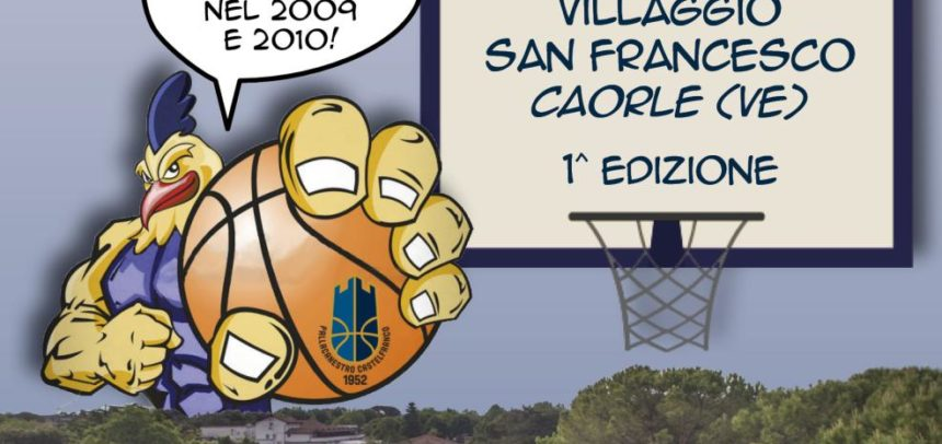 PC1952 Basketball Summer Camp: dal 10 al 16 giugno al Villaggio San Francesco!