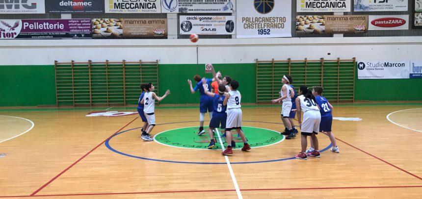 Under 13: Vittoria con Feltrese, tutti a segno gli atleti castellani