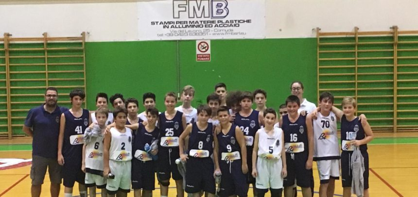 Under 13: derby tra le due formazioni PC1952, una festa per il basket castellano