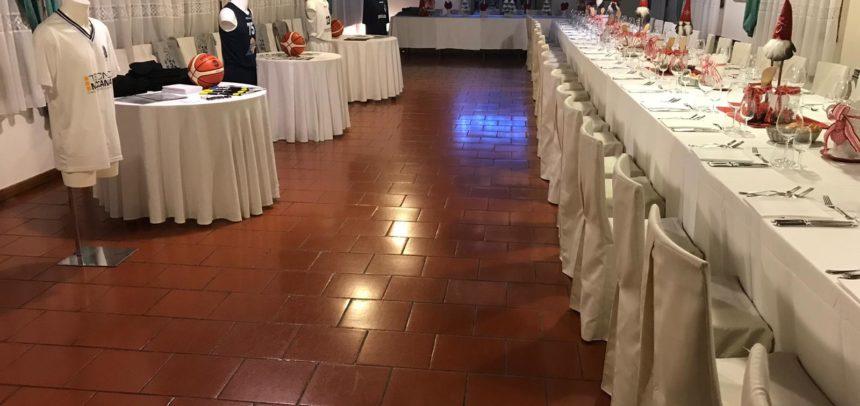 Cena sociale per la Pallacanestro Castelfranco 1952 al ristorante Rino Fior