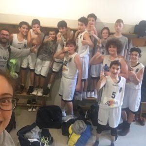 Arriva la prima indimenticabile vittoria per l'Under 13 B Bi-Holiday!