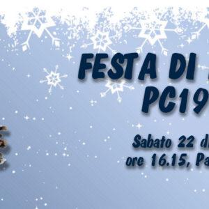 Sabato 22 dicembre la Festa di Natale PC1952 al Palavenale, preceduta giovedì dal Minibasket