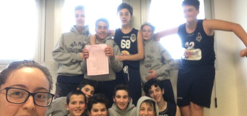 Under 13 B: il Trofeo Primavera comincia in maniera vincente