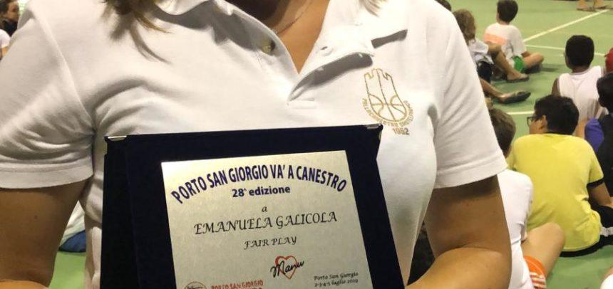 Porto San Giorgio va a Canestro: premio fair play per la PC1952!