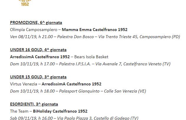 Venerdì sera il Mamma Emma va a Camposampiero, tutti gli impegni