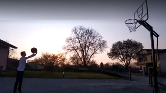 Basket in quarantena: i video dei nostri ragazzi e il messaggio del Presidente Pelloia