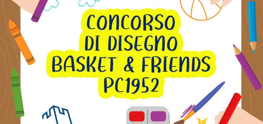 Arriva un concorso di disegno per gli iscritti al Minibasket PC1952!