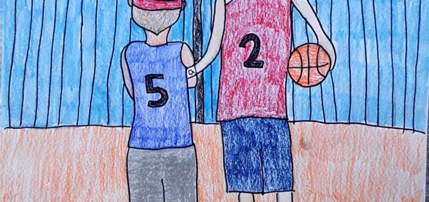 Concluso il concorso di disegno per il Minibasket: tutti i vincitori